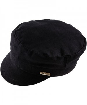 Sterkowski Emerizing Cotton Fiddlers Black in Men's Newsboy Caps