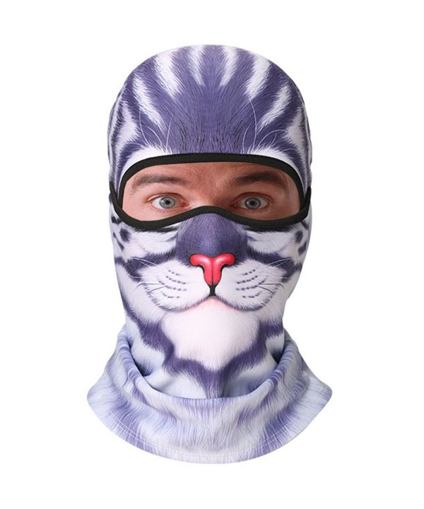 KAITUO Windproof Balaclava Motorcycle Snowboard - Blue Garfield - CL188SUX2XG