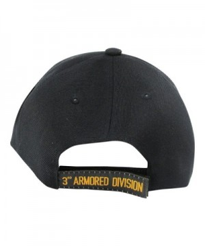 Armored Division Spearhed Baseball Black in Men's Baseball Caps