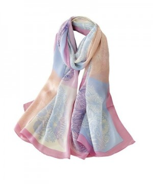 Tong Womens Large Scarf Colorful