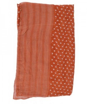AshopZ Womens Summer Lightweight Orange in Fashion Scarves