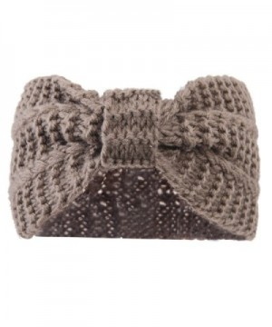 Misscat Women Crochet Headband Warmer