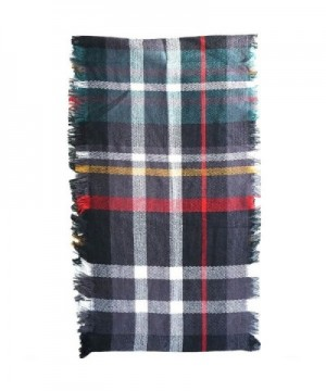 8Layers Fashion Plaid Infinity Scarf in Fashion Scarves