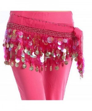 ZYZF Dancing Costume Sequin Waistband