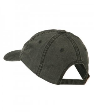 Director Embroidered Washed Cotton Cap in Men's Baseball Caps