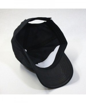 Adjustable Profile Baseball without Buckram in Men's Baseball Caps