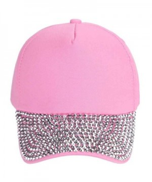 Glitter Rhinestone Baseball Fashion Outdoor