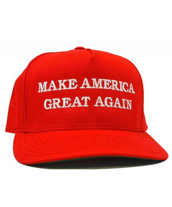 Make America Great Again Hat - Embriodered Just Like Donald Trump's - Red - CB125WEJEO3