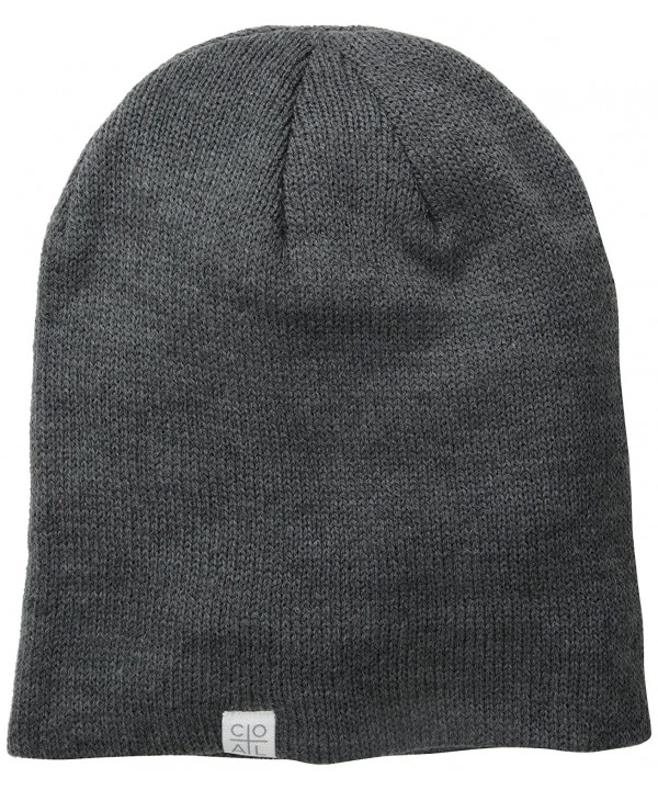 Coal Men's Flt Unisex Beanie Hat - Charcoal - CW11J28U7WT