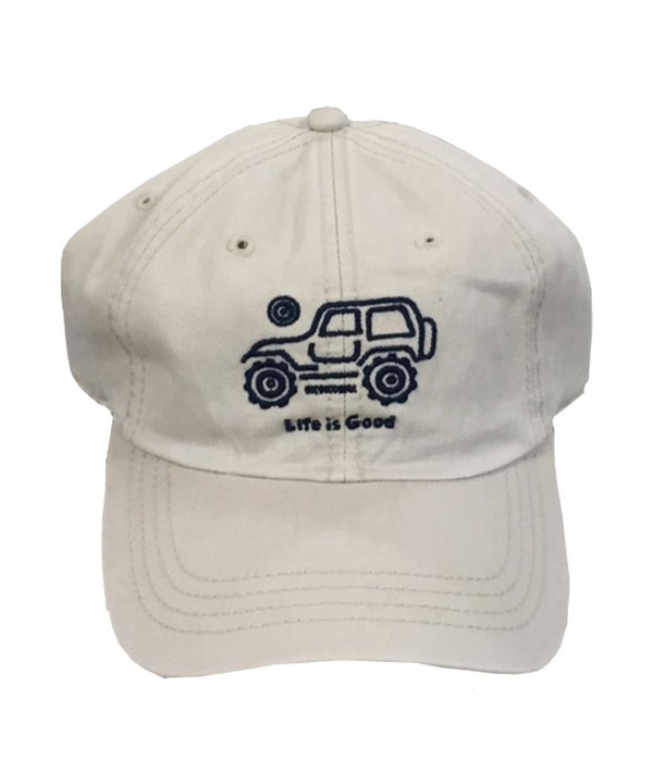 Life is Good. Chill Cap: Native Off Road - Bone White - C7183CC52CS