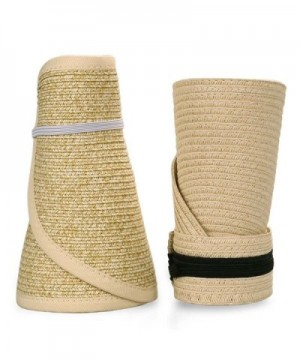 Roll Collapsible Visor Style Straw