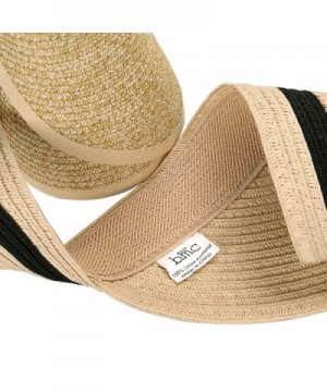 Roll Collapsible Visor Style Straw in Women's Sun Hats