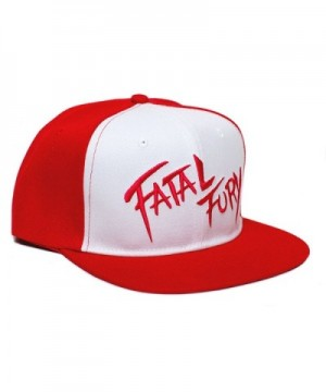 Fatal Fury Embroidered Unisex Adult One Size in Women's Baseball Caps