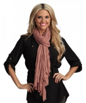 StylesIlove Everyday Fashion Womens Scarf - Mauve - CP126IRD40N