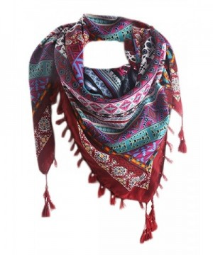 Futurino Womens Ethnic Vintage Scarves in Fashion Scarves