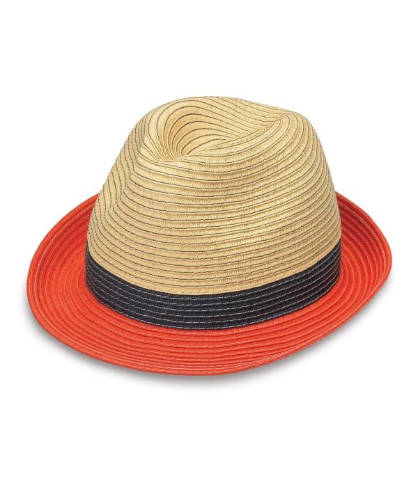 wallaroo W Collection - ST. Tropez Trilby - Orange Combo - C212O0L21TI