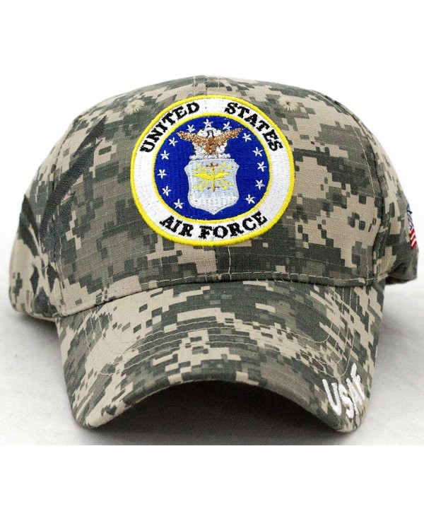 United States Air Force Embroidery Camo Baseball Cap - CN128SQWZV1