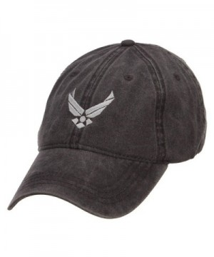 E4hats Force Silver Embroidered Washed