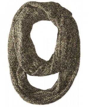 D&Y Women's Marled Cable Knit Loop - Brown - CA11WD3WYHB