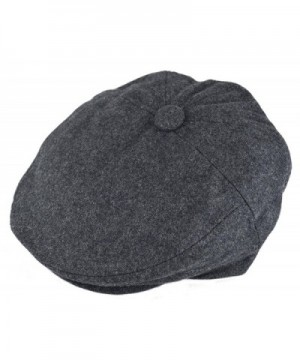 Deewang Fashion Herringbone Newsboy Grey 5Panel