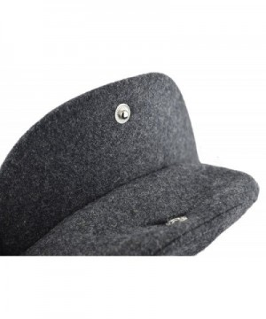 Deewang Fashion Herringbone Newsboy Grey 5Panel in Men's Newsboy Caps