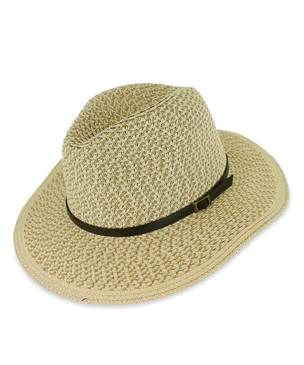 Hats in the Belfry Belfry Sandy - Paper Straw Safari Hat - C5183KXKA9S
