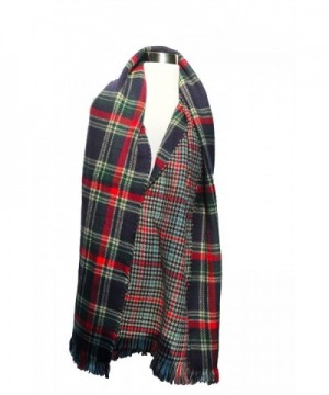 Izzy Roo Reversible Plaid Scarf
