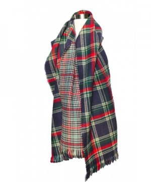 Izzy Roo Reversible Plaid Scarf in Fashion Scarves