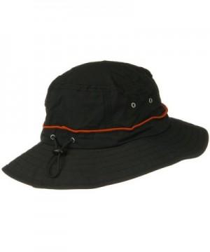 Orange Piping Talson Sun Bucket in Men's Sun Hats