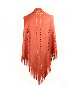 Dikoaina Womens Suede Fringed Colors