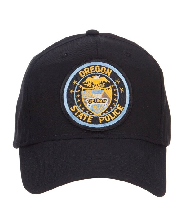 Oregon State Police Patched Cap - Black - CJ126E5SDR3