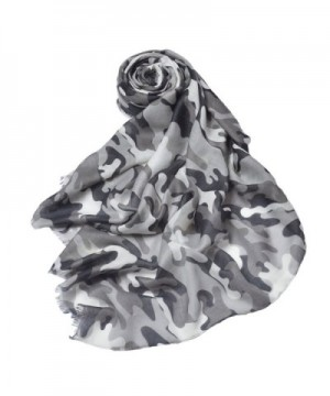 IvyFlair Lightweight Unique Camouflage Patterned in Fashion Scarves