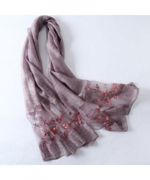 Confidanilin Womens Cashmere Flower Pattern in Fashion Scarves