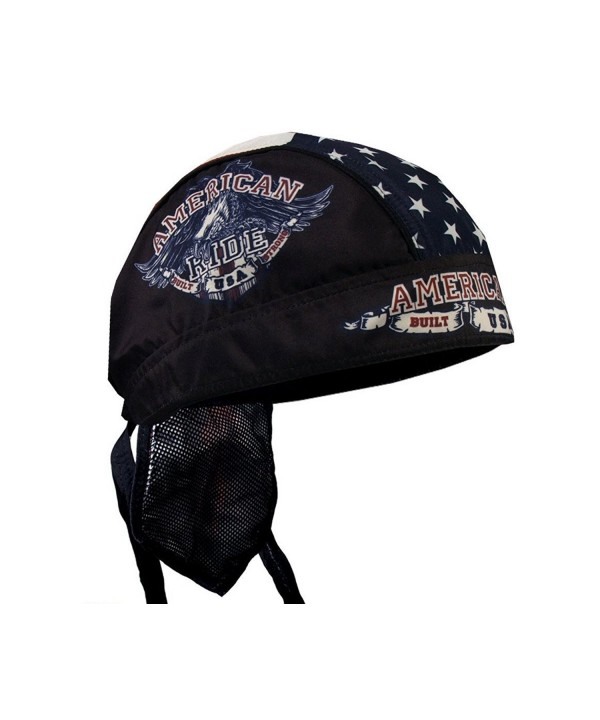 Hot Leathers AMERICAN RIDE EAGLE Biker Head Wrap - CZ11FOOA6RP