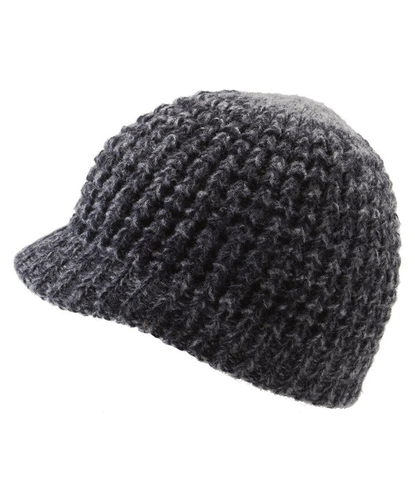 Dohm The Super Soft Hat Merino Wool Winter Hat By Icebox Knitting - Coal - CA112EPYO6R