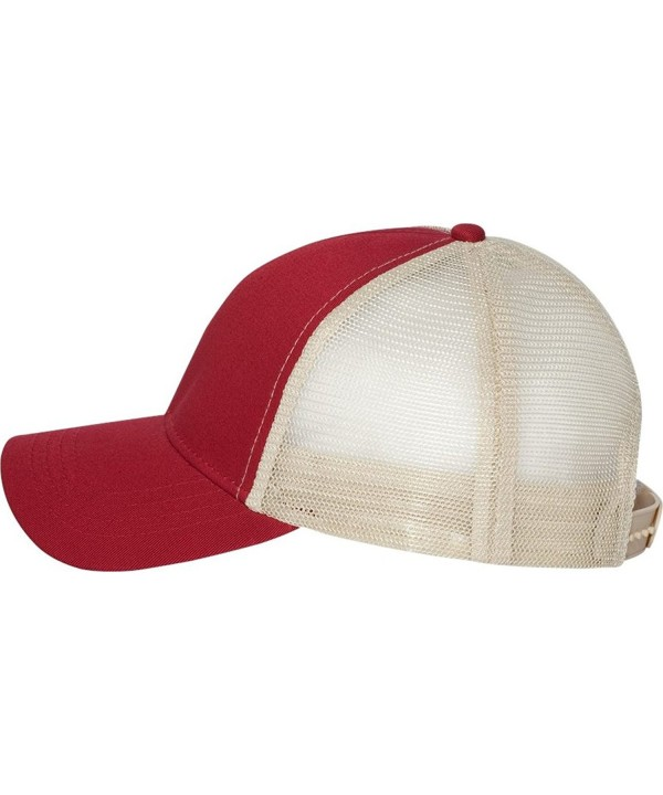Econscious - Trucker Cap - 7070 - Adjustable - Red/ Oyster - CX11CYPVPBT