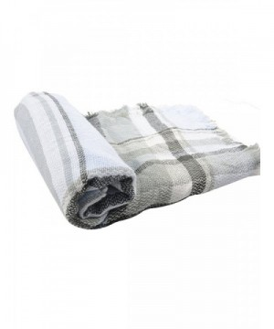 Zando Blanket Scarves Tartan Winter in Cold Weather Scarves & Wraps