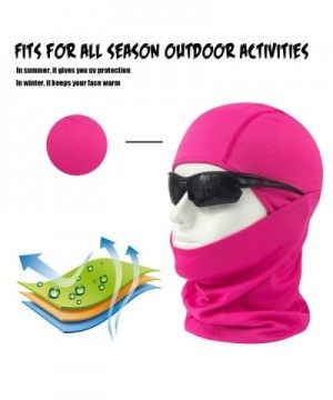 HikeValley Adjustable Motorcycle Protection Breathable in Men's Balaclavas