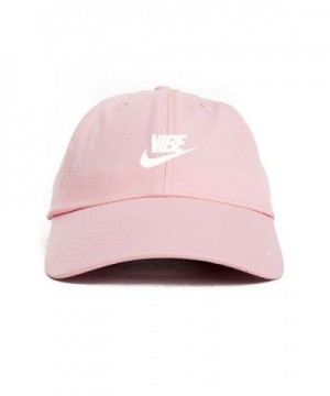Just Vibe Swoosh Pink w/ White Dad Hat - CK12O176QY8