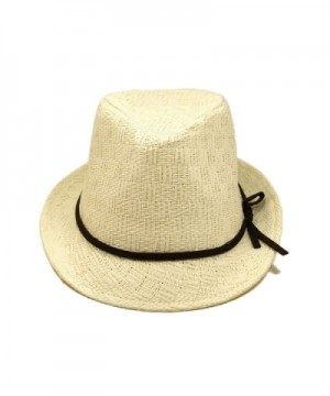 Young Adult Teens White Fedora