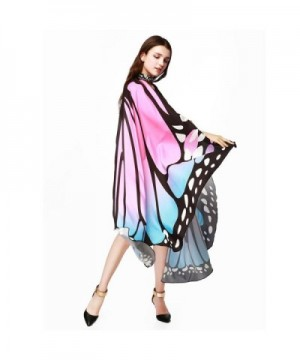 VESNIBA Christmas Thanksgiving Butterfly Accessory in Fashion Scarves
