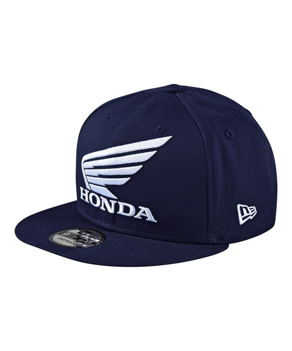 Troy Lee Designs Mens Honda Snapback Adjustable Hats/Cap - Navy - CD182XO75Q5