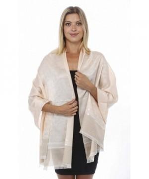 GILBINS Paisley Stripe Weather Pashmina in Fashion Scarves
