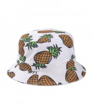 Dealzip Inc Headwear Pineapple Hat White - White - C111YUODEWP