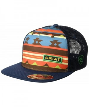 Ariat Men's Aztec Multi Flat Bill Cap - Multi/Color - C917YQC2N7S