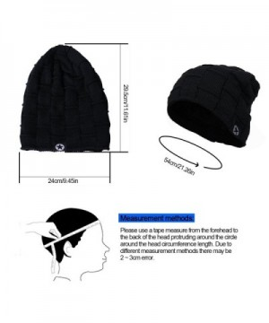 JNINTH Winter Knitting Beanie Slouchy in Men's Skullies & Beanies