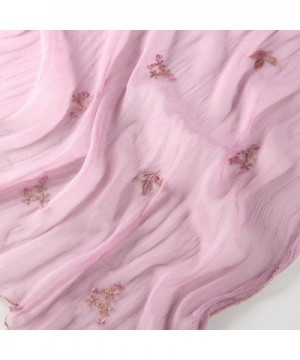 STORY SHANGHAI Womens Luxury Embroidery in Fashion Scarves