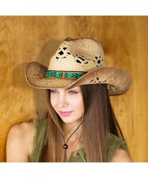 Western Cowboy Outback Hat Beaded