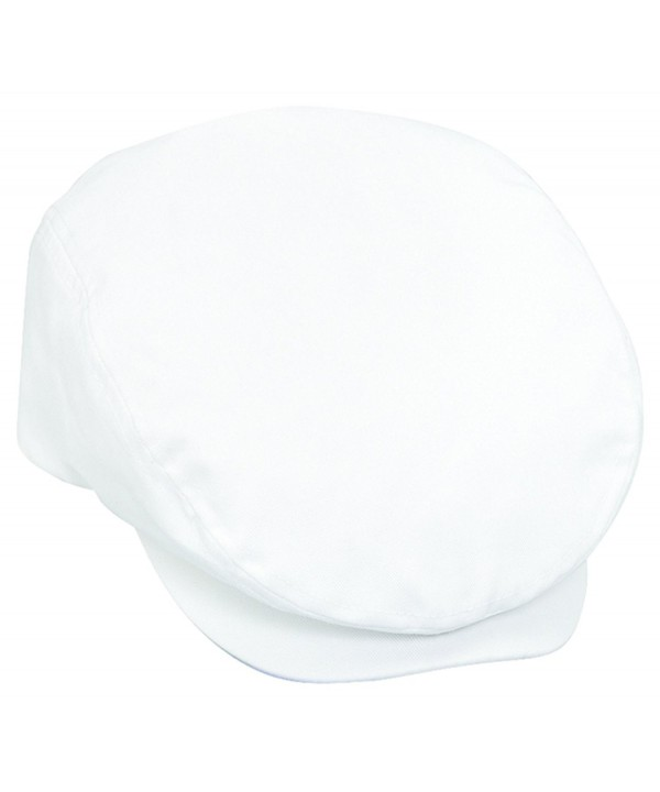 Otto Caps Cotton Twill IVY Caps - White - C011U5JVZST