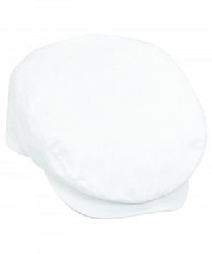 Otto Caps Cotton Twill IVY Caps - White - C011U5JVZST